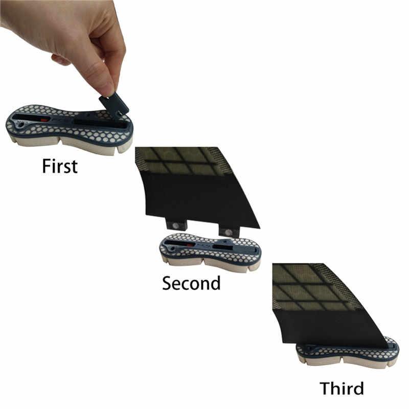 Surf FCS II Kompatibilitas Kit Tab Pengisi Kit Fcsii Tab Pengisi Kit untuk FCS II Fin Kotak