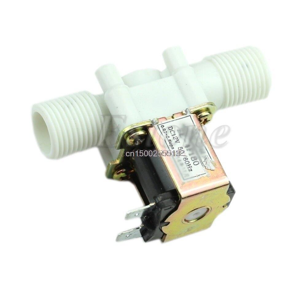 Genossenschaft 12 V Elektrische Magnetventil Magnet Dc N/c Wasser Lufteinlass Fluss Schalter 1/2 Zu Den Ersten äHnlichen Produkten ZäHlen Sanitär Heimwerker