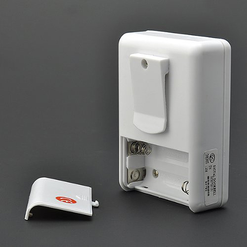 wireless infrared alarm Door Bell Driveway Patrol Garage Infrared wireless Doorbell Alarm System Motion Sensor
