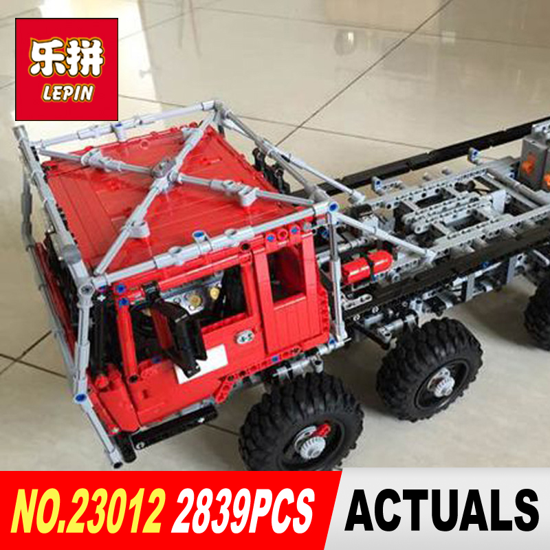COOL LEPIN 23012 technic series 2839pcs vehicles car Model toy Building blocks Bricks Equipped with 5 motors and 1 charging box cool and fashion toy vehicles plastic mold