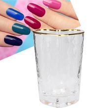 Прозрачный карандаш для маникюра держатель пыли кисть для ногтей, для маникюра, организатор хранения данных контейнер хранение для принадлежностей для дизайна ногтей чехол
