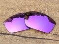 Плазмы Фиолетовый Зеркало Поляризованных Солнцезащитных Очков на Замену Линзы Для Бронежилет Солнцезащитные Очки Кадров 100% UVA и UVB Защиты