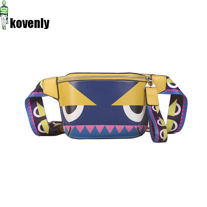 Women Waist Bag Fashion Fanny Pack Belt Bag Female Mobile Packs Chest Bags Girl Shoulder Backpack 82