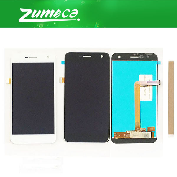 High Quality For Wileyfox Spark LCD Display And Touch Screen Digitizer Assembly Replacement Part Black White Color With TapeHigh Quality For Wileyfox Spark LCD Display And Touch Screen Digitizer Assembly Replacement Part Black White Color With Tape