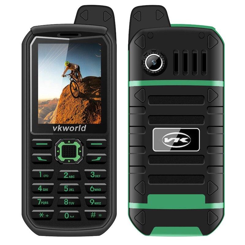 VKWorld Stone V3 Plus 3000mAh Battery  Mobile Phone 2.4 inch IP54 Waterproof Elder Man FM Radio Dual SIM GSM CellPhones
