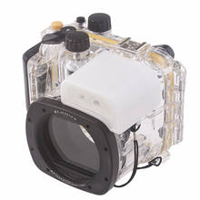Meikon Underwater Diving Camera Waterproof Housing Case For Canon G15 as WP-DC48(China)