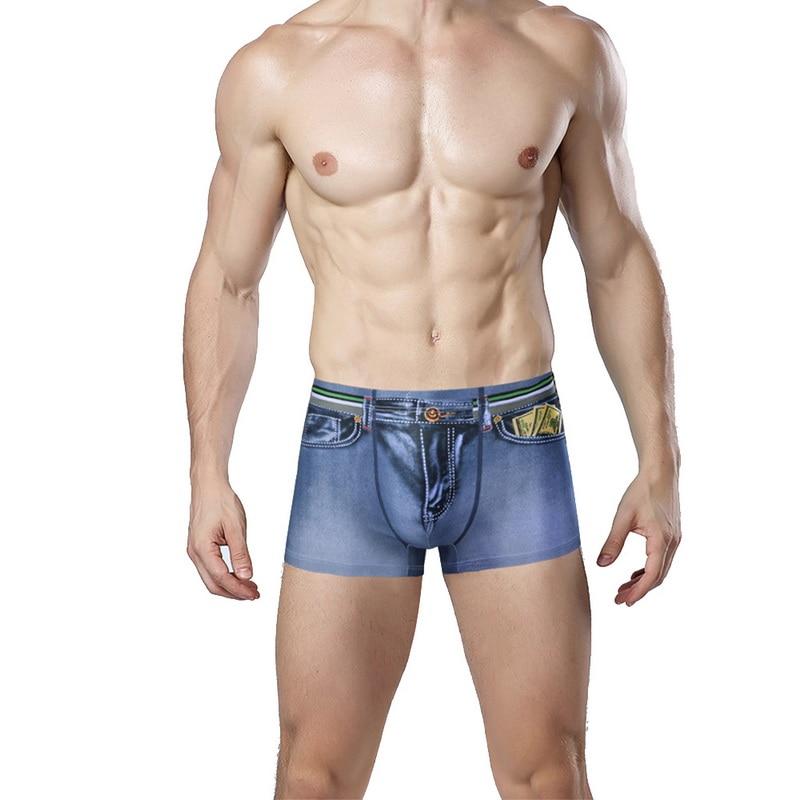 Cotton Comfortable Underwear for Mens Mens Chicago Flag in Pitbull Boxer Briefs