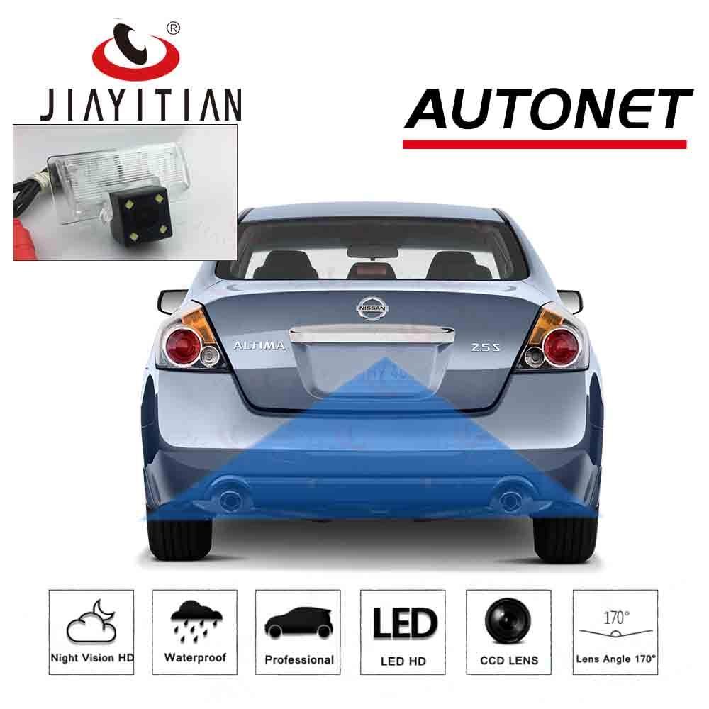 JIAYITIAN Rear View Camera For Nissan Altima Sedan Coupe 2009 2012 2007~2018/CCD/Night Vision/Backup Camera/license Plate Camera
