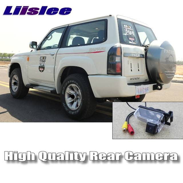 LiisLee Car Camera For Nissan Patrol Y61 Patrol 4WD Super Safari High  Quality Rear View Back Up Camera | CCD with Night View