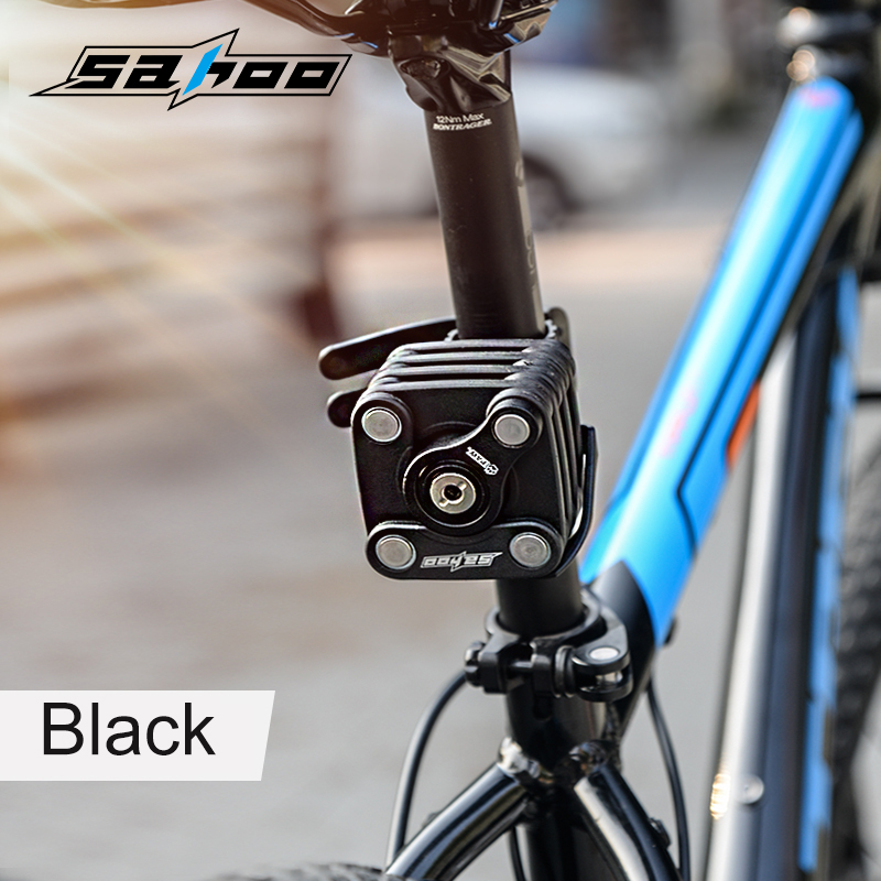 Sahoo Paw Folding Bike Lock Ultra Strong Harden Steel Alloy Metal Magic Bicycle 16pcs Anti Theft Chain Cable In From Sports