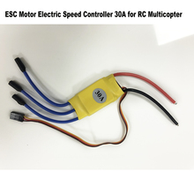 1 Piece Remote Control Toys Accessory 30A Electric Speed Controller ESC For RC Brushless Motor Airplane Quadcopter Aircraft