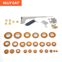 1 set Alto Sax Repair kit Set Key Axis Shaft Screws Leaf Flat Spring pin Saxophone Stick Pads Accessories