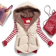 New Hoodies PU Fur Vest Women Sleeveless Coral Fleece Liner Winter Vests Plus Size Vest Colete Feminino Free Shipping