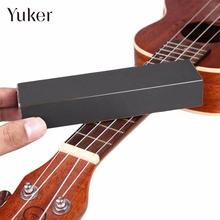 Yuker New 1Pc Guitar Bass Fret Leveling Files With Self Adhesive Sandpaper Musical Tool 14.5*3.7*2.5cm