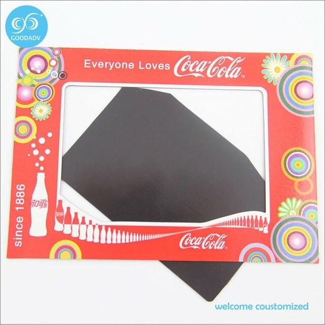 Advertising Gift Custom Magnetic Photo Picture Frame Fridge Magnet