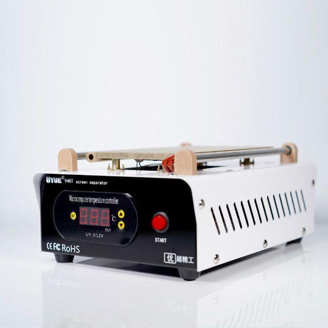 Купить с кэшбэком UYUE 948T 7Inch Preheat Separate Machine LCD Built-in Vacuum Pump Screen Separator  Split Screen Machine Phone Heating Platform