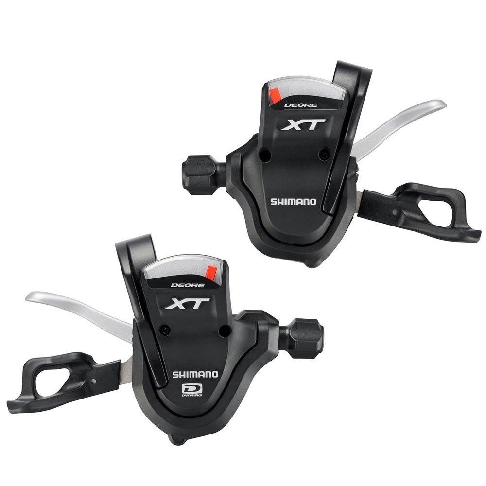 shimano Deore XT m780 SL-m780 Shift Lever Set Shifter Trekking R+L 2/3x10 Rapidfire 20s 30s запчасть shimano xt m780 170 мм 42 32 24t