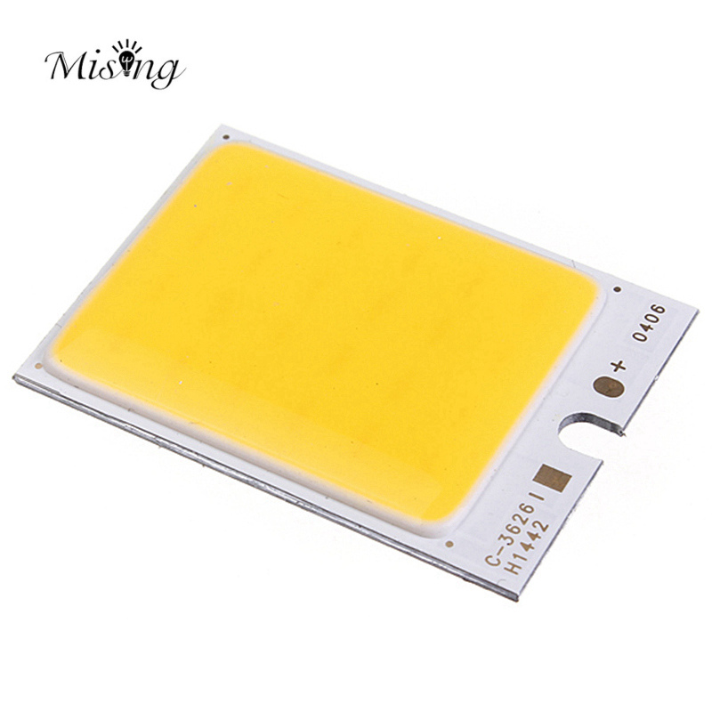 Mising 4W 48led COB LED Chip 480mA White/Warm White For DIY DC 12V