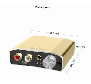 Image 5 - Reiyin DAC 192kHz 24bit Optical Coaxial Audio Converter for HD TV DVD XBOX PS4 Game console