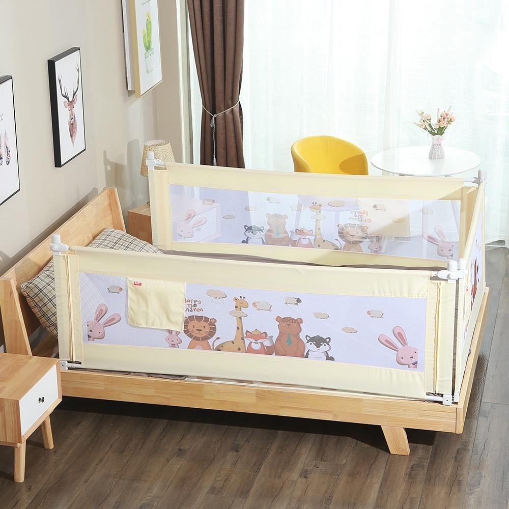 2m 1piece Newborn Baby Safety Bed Guardrail Crib Rails