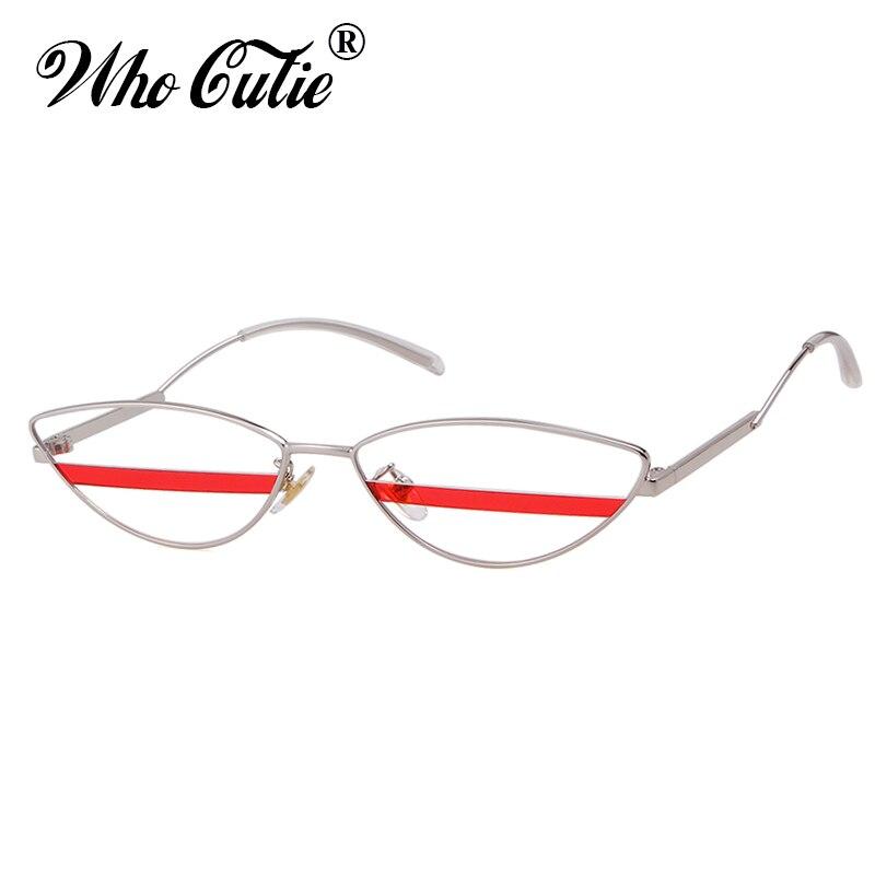 2018 Unique Cat Eye Sunglasses Men Women Brand Designer High Quality 90s Retro Vintage Tiny Slim CATEYE Sun Glasses Shades OM622