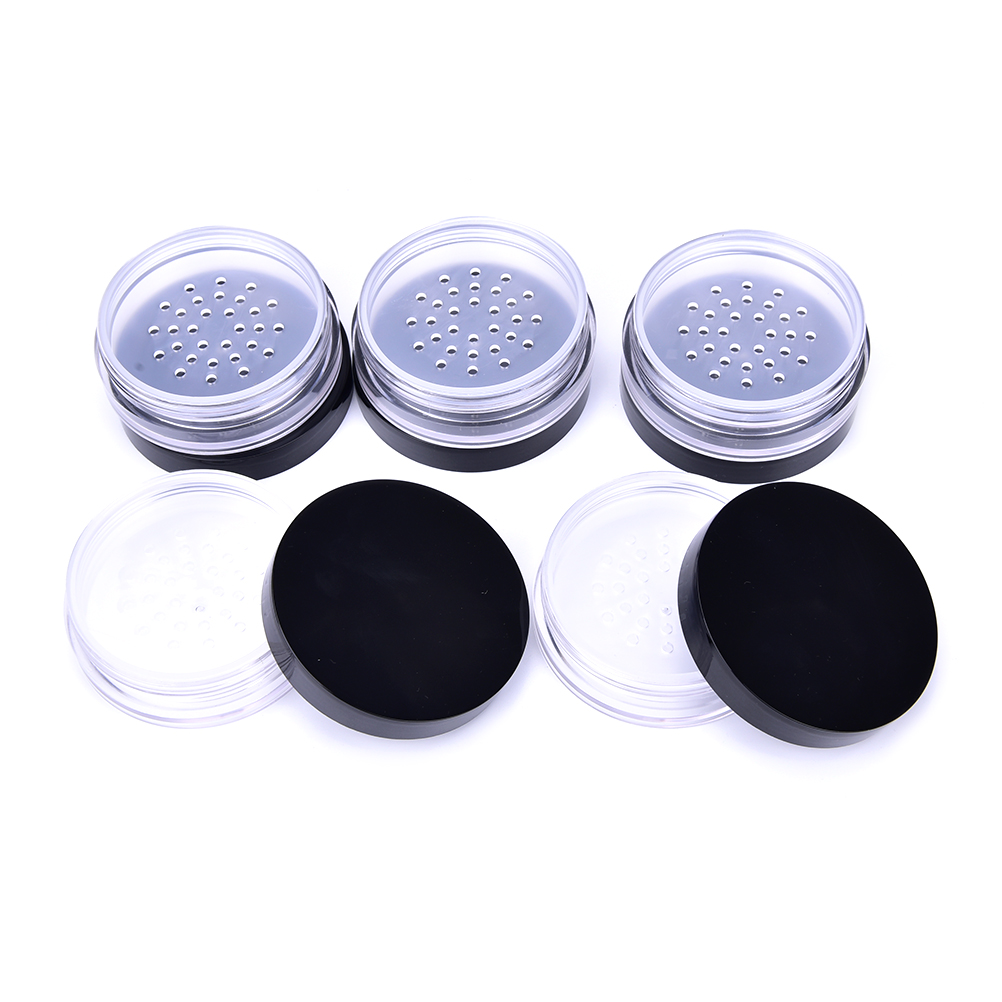 0a52426dca84 10ML New Empty Refillable Cosmetic Jar Pot Loose Face Powder Sifter Case  Powder Box Empty Cosmetic Container for Travel