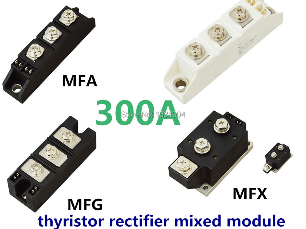 hot sale 300A Thyristor Rectifier diode mixed Module MFC MFA MFK MFX 300A compression joint free shipping