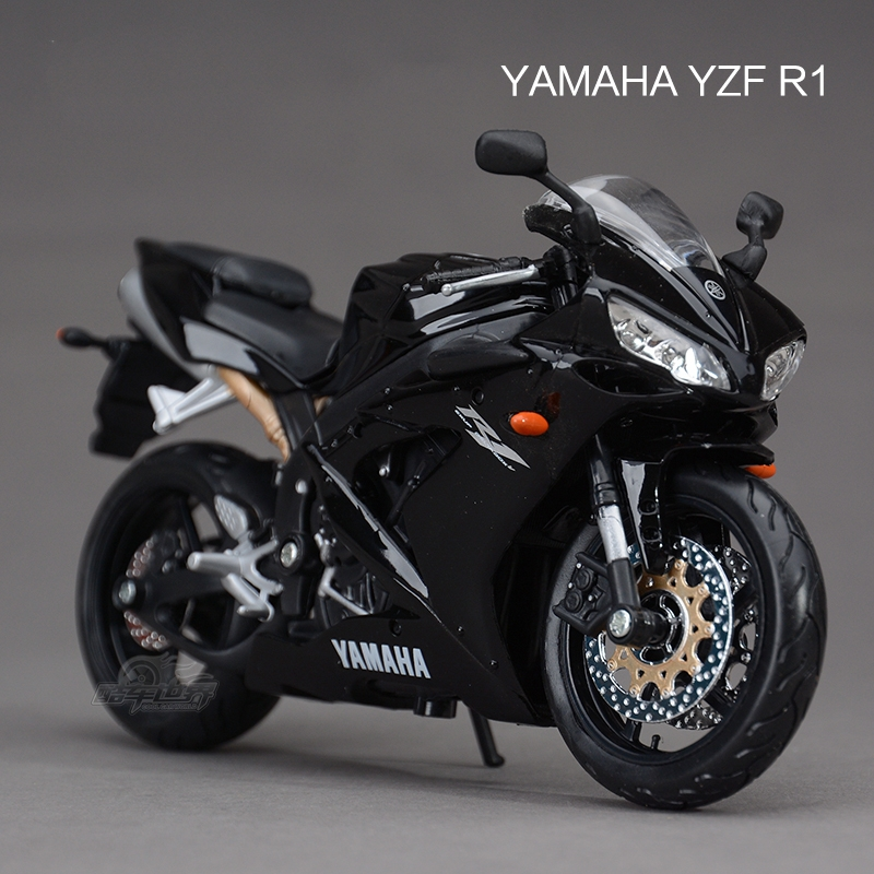 Freeshipping maisto yamaha yzf r1 1 12 motorcycles diecast for Yamaha r1 deals