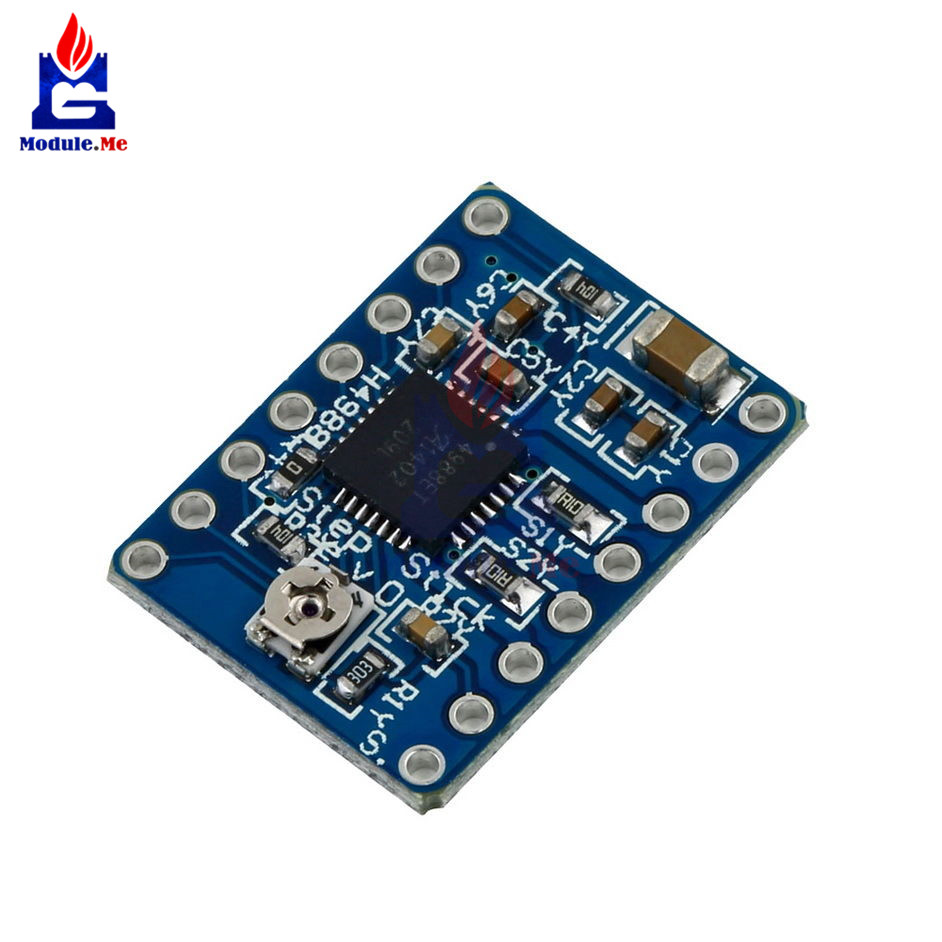 Stepstick Microstepping Stepper Motor Driver Reprap Prus A4988 A4983 High Voltage Regulator With Short Circuit Protection 3d Printer Module Low Power Board In Integrated Circuits From