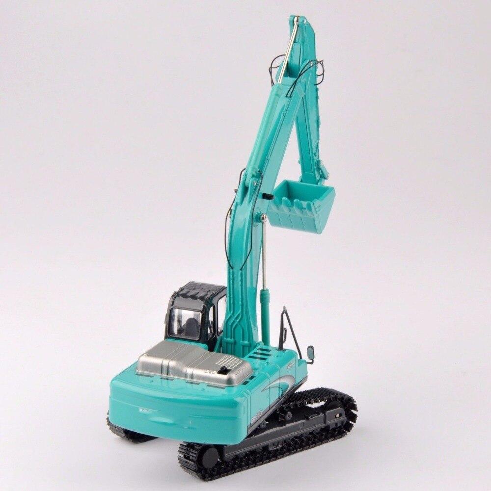 Коллекция литья под давлением 1/50 масштаб SK 350 светло голубой литой экскаватор грузовик автомобили Игрушечная модель - 4