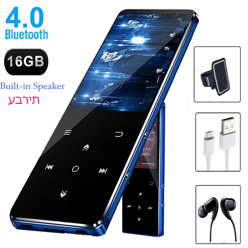 CHENFEC C10 Bluetooth 4.0 MP3 Player 16GB Metal With 2.4inch Large HD Screen Support Speaker FM Radio Music Recorder RadioSD MP3