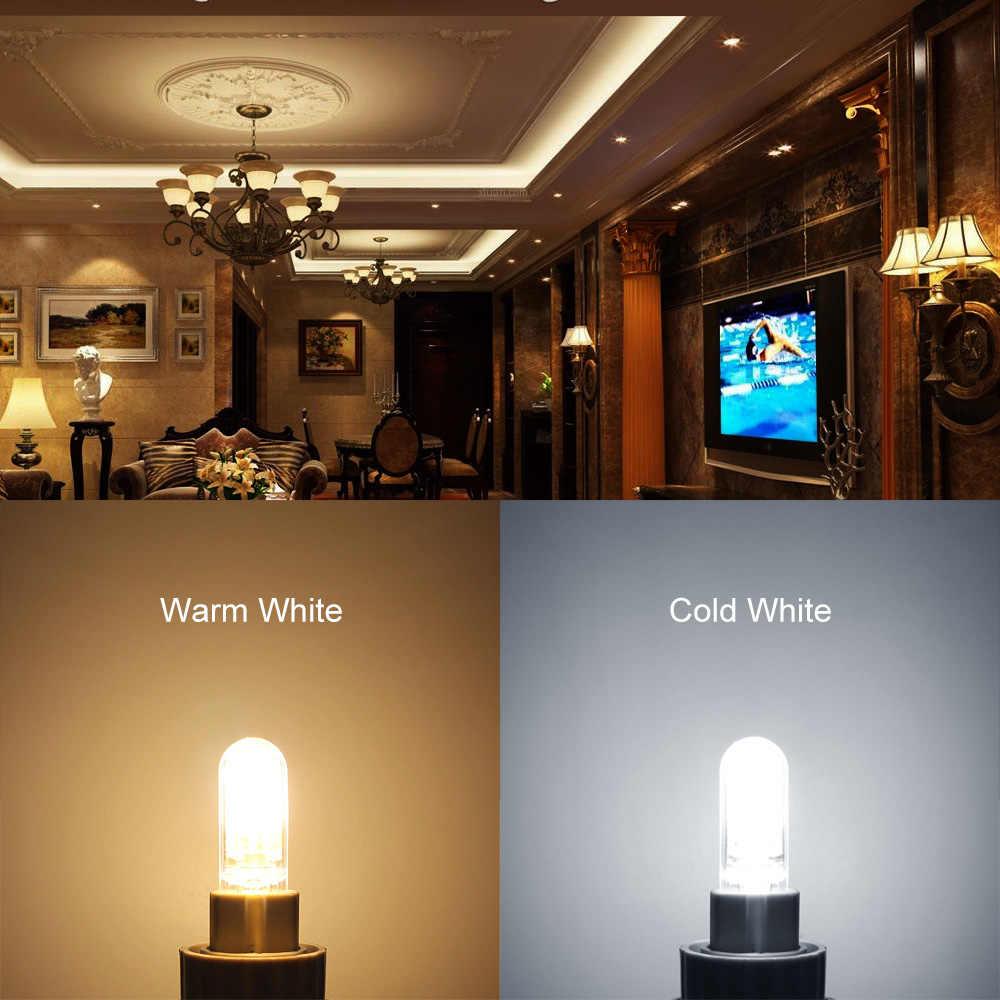ANBLUB Bombillas G9 3W 4W 5W 6W LED Lamp Dimmable AC 220V Candle Spotlight Bulb replace 20W 30W 40W halogen Light For chandelier