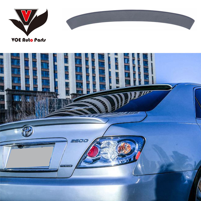 Mark X Reiz ABS Plastic Unpainted Primer Rear Roof Spoiler for TOYOTA Mark X 2004 2005
