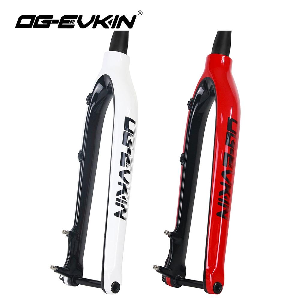 "LUTU Aluminum Fork 26/"" Bike MTB Bicycle 27.5/""Rigid Fork 1-1//8/""Disc Brake fork29/"""