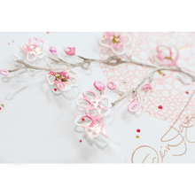 Cherry Blossom Branch Metal Cutting Dies for DIY Scrapbooking Decorative Crafts Embossing Paper Cards Making New 2019 Templates teddy bear and plush rabbit metal cutting dies for diy scrapbooking embossing paper cards making crafts templates new dies 2019