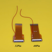 цена на For Nintendo For GBA Ribbon Cable Backlit Adapter 40 PIN OR 32 PIN AGS 101