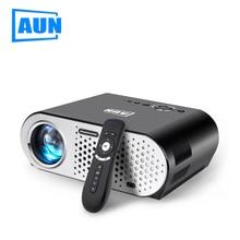Аун светодиодный проектор 3D Play (дополнительный Android 4.4 Системы T90S,) GP90 раздел обновления proyector привело ТВ дома Театр T90 projetor
