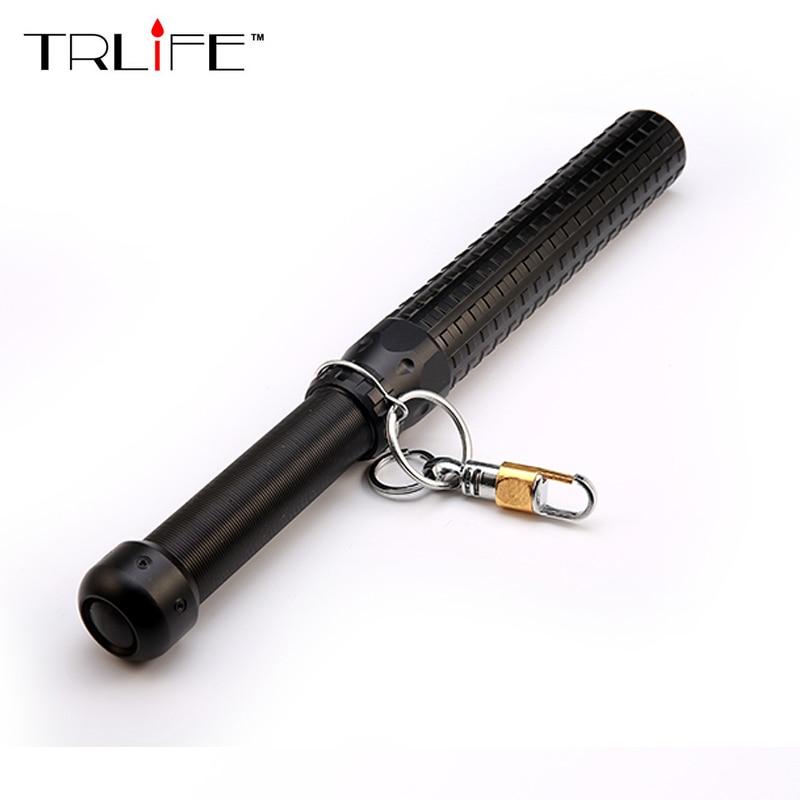 3800LM Q5 Teleskop Zoom Lange Tactical Self Defense LED Taschenlampe Licht Baseball Bat
