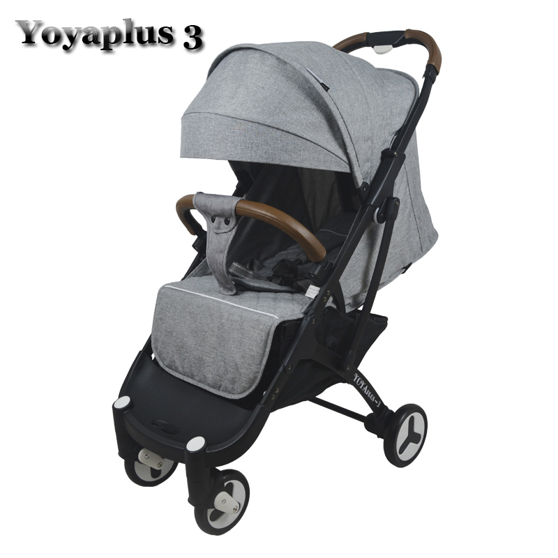 Mother & Kids ... Activity & Gear ... 32803280685 ... 2 ... 2019 YOYAPLUS 3 baby stroller light folding umbrella car can sit can lie ultra-light portable on the airplane ...