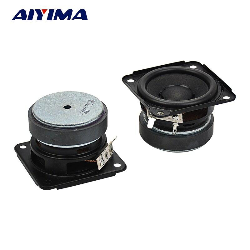 2.75Inch Portable Full Range Audio Speakers 4Ohm 10W Ferrite High Performance Horn Speaker