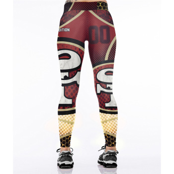 Unisex Football Team 49ers 00 Print Tight Pants Workout Gym Training Running Yoga Sport Fitness Exercise Leggings Dropshipping 1