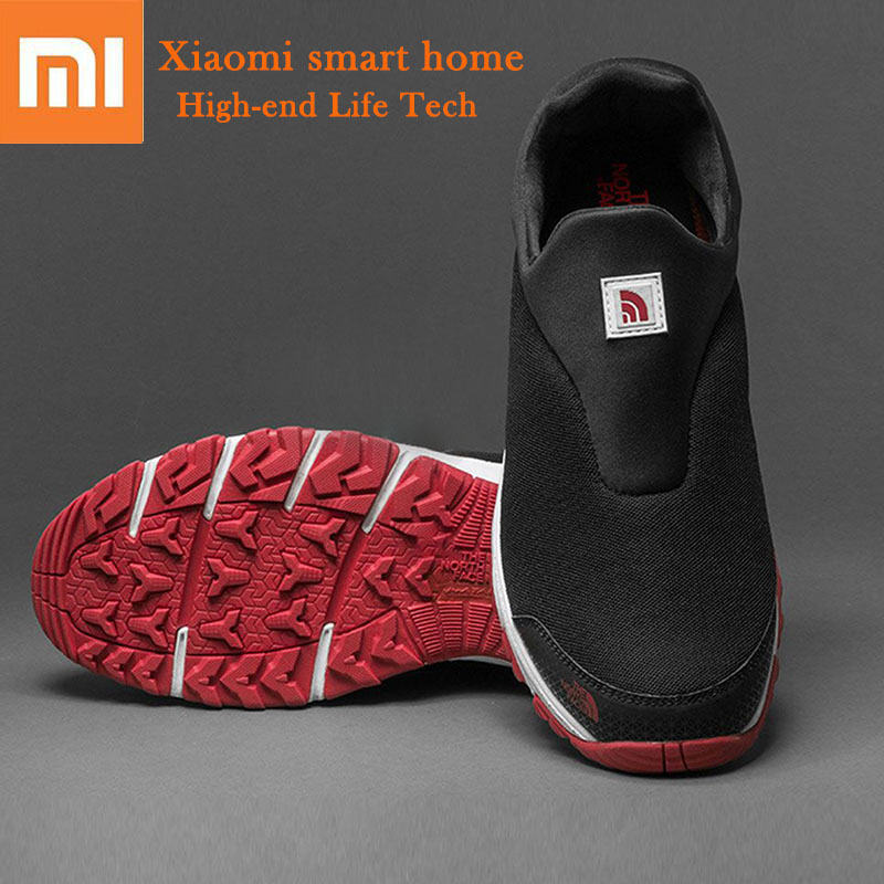 Newest Xiaomi Outdoor Walking Shoes High elastic Knitted Upper Anti skid Wear Resistant Rubber Comfortable Breathable