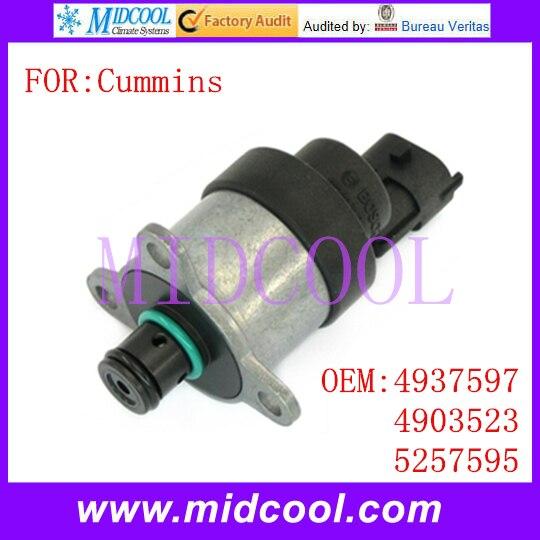New Fuel Pressure Sensor SCV Suction Control Valve use OE NO. 4937597 , 4903523 , 5257595 for Cummins