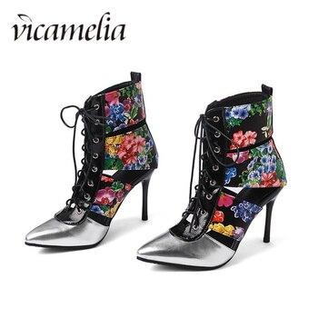 02cf2a14b Product Offer. Vicamelia/2019 г.; Летние пикантные сандалии-гладиаторы с острым  носком; женская обувь ...