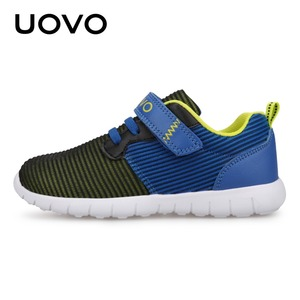 Image 2 - UOVO Newest Kids Shoes Breathable Spring Autumn Shoes for Boys Girls Light weight Sole Children Shoes Flexible Shoes For Kids
