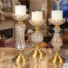 Candle holder, home decorative arts and crafts, Christmas decoration and wedding decoration gift