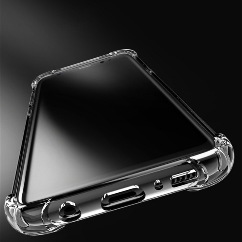 Xindiman transparent airbag case for samsungS7 S7edge S8 S8plus S9 S9plus S10 S10plus J4 J6 J8 A5 A7 A8 A9 silicone tpu case in Fitted Cases from Cellphones Telecommunications