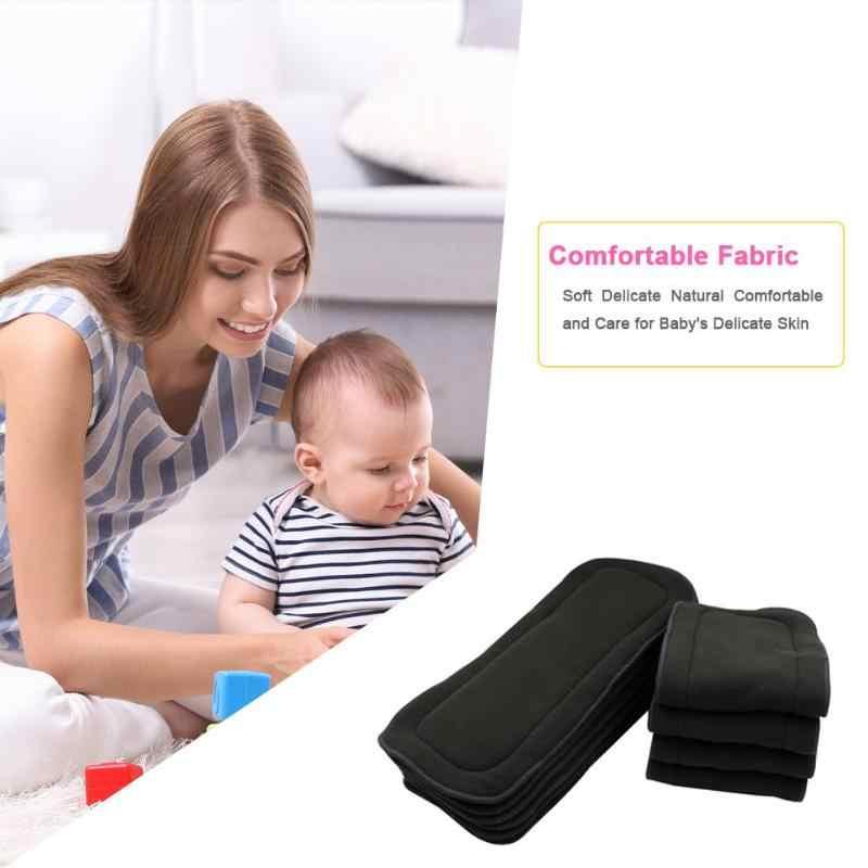 Bambus Faser Baby Windeln Mehrweg Waschbar Einsätze Windel Abdeckung Wrap Tuch Neugeborenen Baby Windeln Windel Ändern Waschbar Tuch L