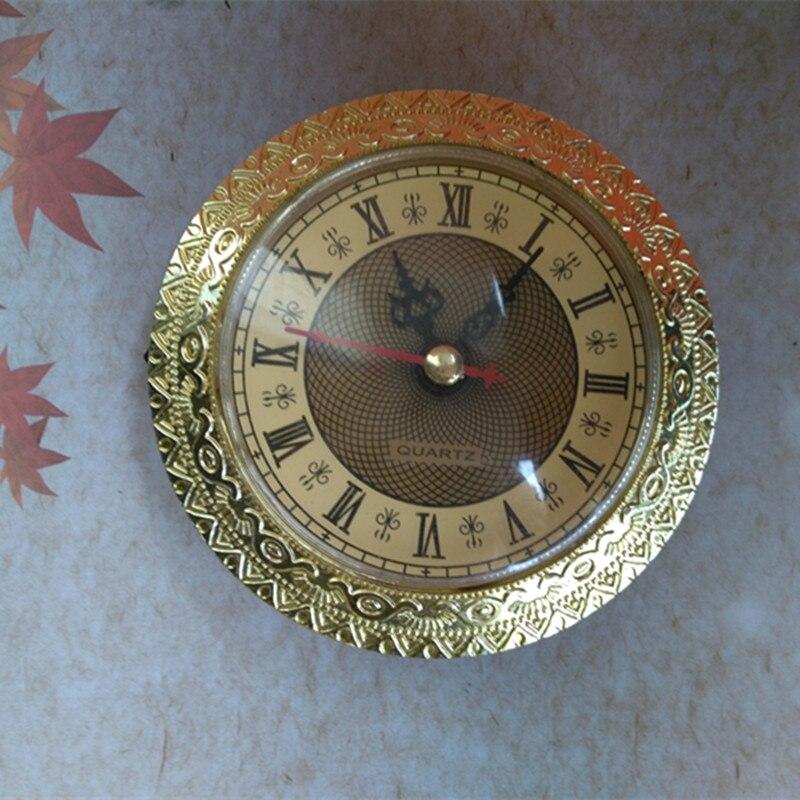 2 Pcs 92 Mm Gebaut-in Uhr Diy Quarz Einsatz Uhr Kopf Diy Schreibtisch Uhr Ersatz Kits StäRkung Von Sehnen Und Knochen