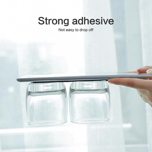 FLOVEME Universal Mobile Phone Holder Strong Adsorption Wall Desk Sticker Paste Phone Car Holder Stand For Phone Tablet Mount